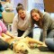 Therapy dog students