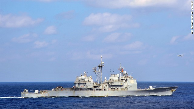 The guided missile cruiser USS Cowpens on December 6 was involved in an incident with a Chinese military vessel, U.S. military officials confirm.