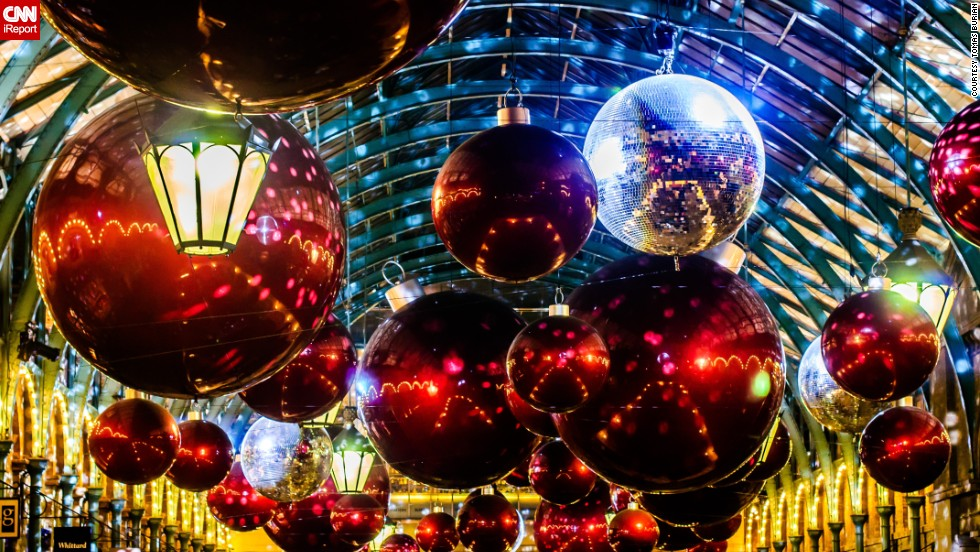 Worlds most spectacular Xmas decorations  CNN