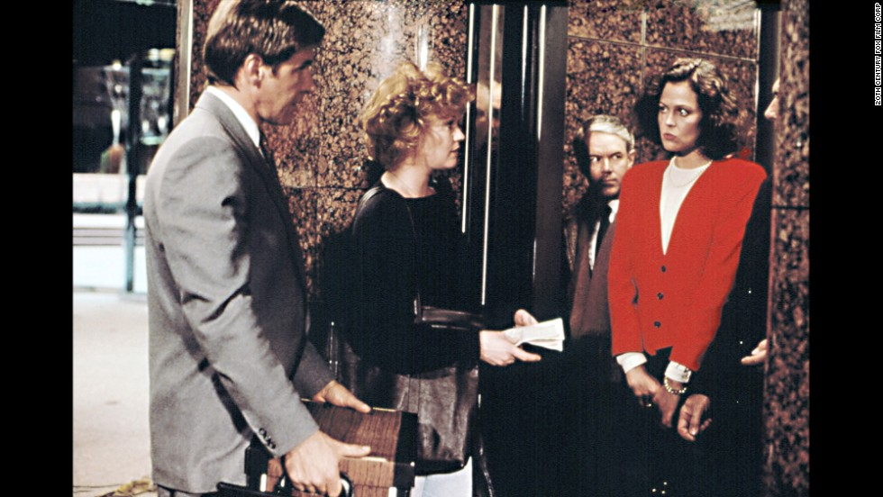 "Relying on the charms of star Melanie Griffith, 1988's ""Working Girl"" tried to milk more laughs out of the Wall Street scene. The movie sees Griffith's character tap into her innate talent for numbers to quietly take over for her hell-on-wheels boss, played by Sigourney Weaver. Harrison Ford was also on hand to add some romance to the comedy."