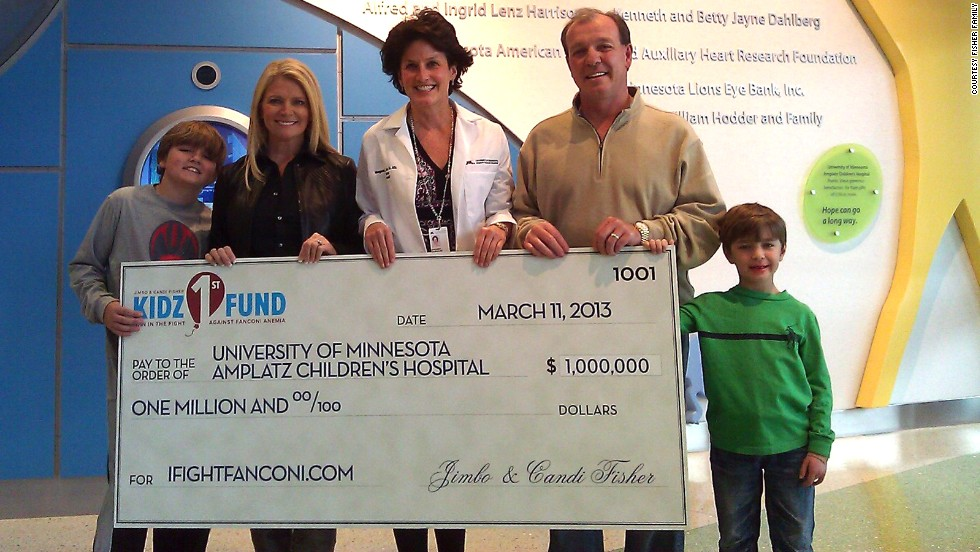 "So far, Kidz1stFund has raised more than $1.5 million for research at the University of Minnesota Amplatz Children's Hospital. ""Sixteen years ago when I started, (bone marrow transplant) survival was 20%,"" says Dr. Margaret MacMillan, ""Now it's 85%. In 16 years we've changed the outcome."""