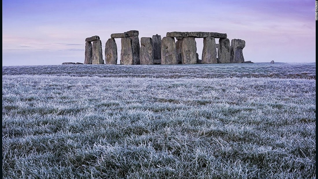 Stonehenge, which is in the west of England, is one of the world's most famous prehistoric monuments.