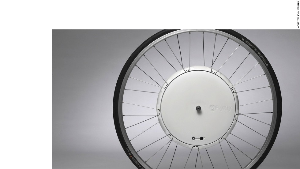 "<strong>2. <a href=""http://www.kickstarter.com/projects/flykly/flykly-smart-wheel"" target=""_blank""><strong></strong>FlyKly Smart Wheel - Electronic Bicycle Wheel</a></strong>"