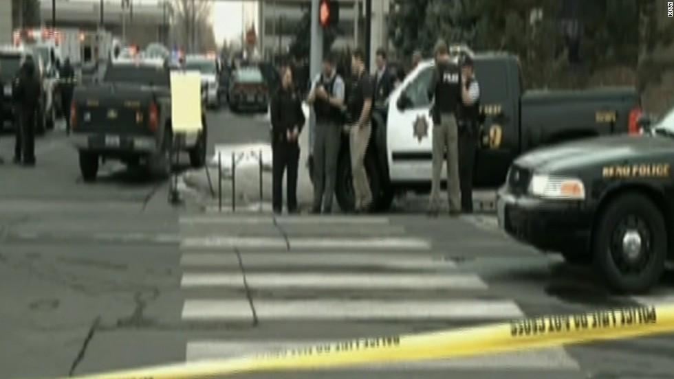 One person, gunman dead in shooting at Reno medical building
