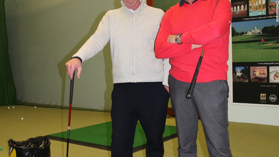 Gould (right) and Wilkinson have both served over 35 years at KGS, passing King's principles on to today's modern golfers, with the help of new coaches Dave Lamplough and Phillip Talbot.