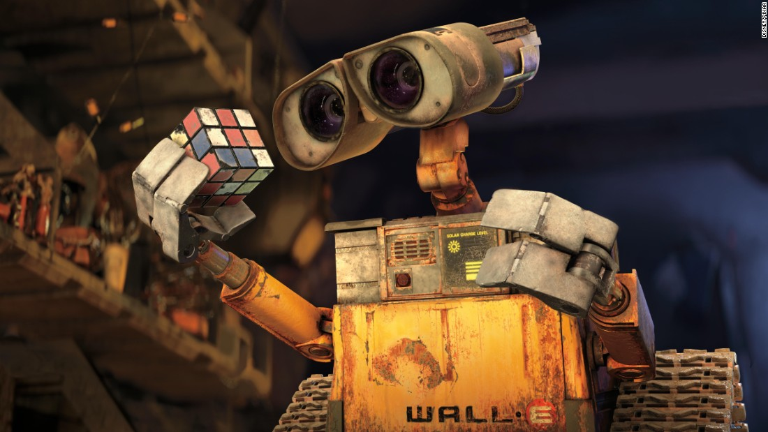 "In Pixar's 2008 film ""Wall-E,"" the titular robot was the last resident of an abandoned, environmentally ruined Earth. The first half of the computer-animated movie contained virtually no dialogue."