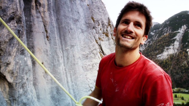 Climbing champ takes on toughest rocks