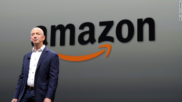Amazon founder evacuated
