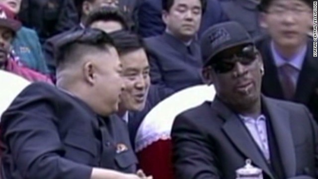 Gambling site backing Rodman trip