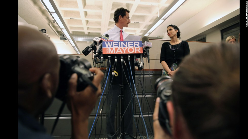"Women had a hard time understanding how <a href=""http://www.cnn.com/2013/08/01/living/parents-huma-abedin-blame/"">Huma Abedin, wife of the former New York City mayoral candidate Anthony Weiner, was partially blaming herself </a>for her husband's return to sexting, which ultimately collapsed his campaign. ""What a sad thing to hear, that Huma blames herself, but it's not so unusual, is it?"" Jessica Dukes, a mom of two, said at the time. ""When relationships hit the rocks, doesn't everyone have those 'What did I do to deserve this?' thoughts."""