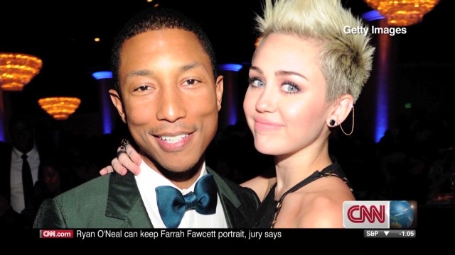 Pharrell Williams: I'm proud of Miley Cyrus