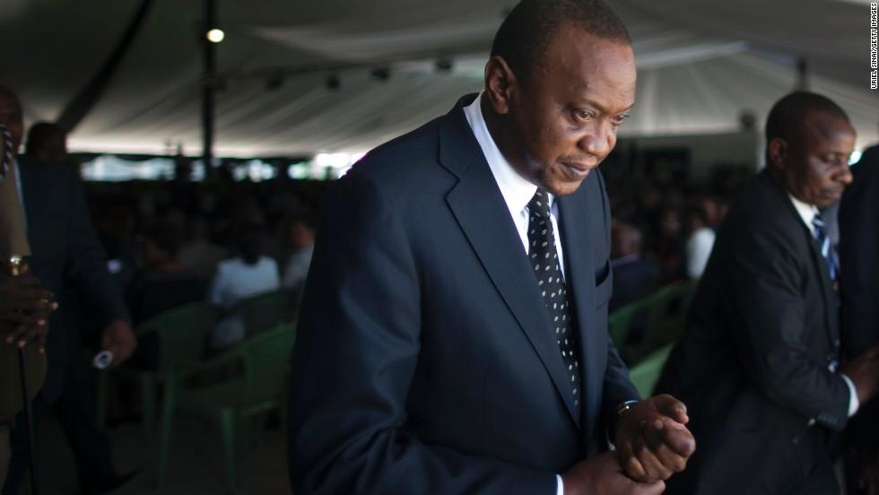 Kenyan President Uhuru Kenyatta at ICC over charges linked to 2007 violence