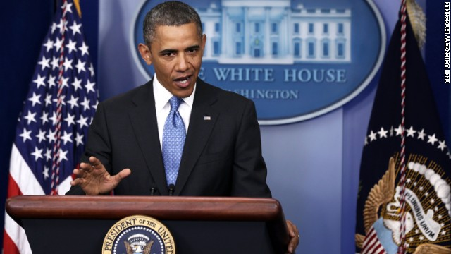 Reporters grill Obama on 2013 failures