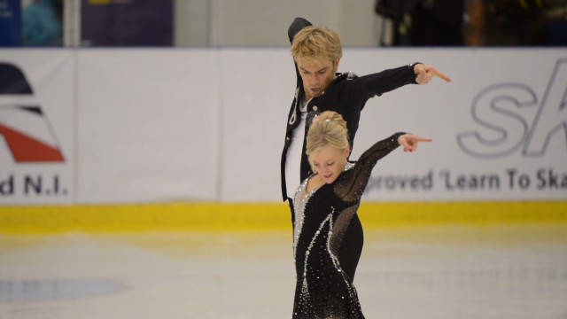 Ice dancer returns from heart surgery