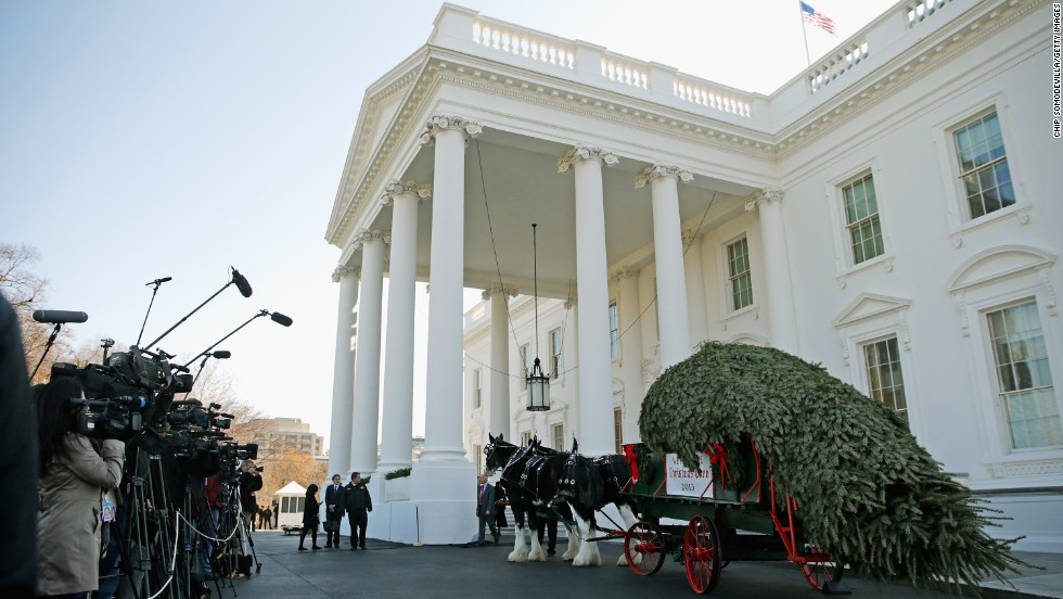 A White House Christmas Tour