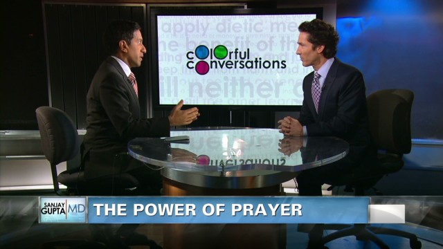 Pastor Joel Osteen on the power of prayer