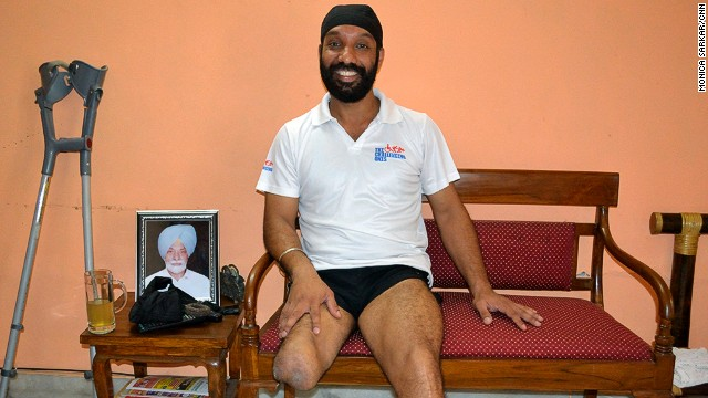 Refusing to be overcome by the challenges of losing a limb during the Kargil War in 1999, Devender Pal Singh, 39, became a marathon runner.