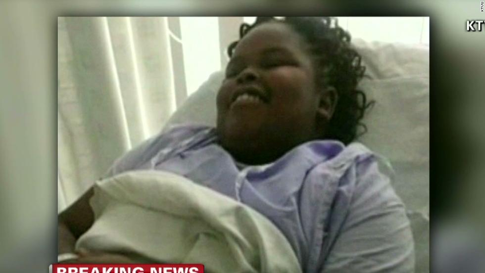 Girl ruled brain dead by California dies in NJ
