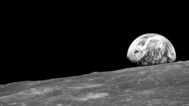 This 1968 image of the Earth rising over the moon is among the first ever photos of our planet taken by humans from deep space.