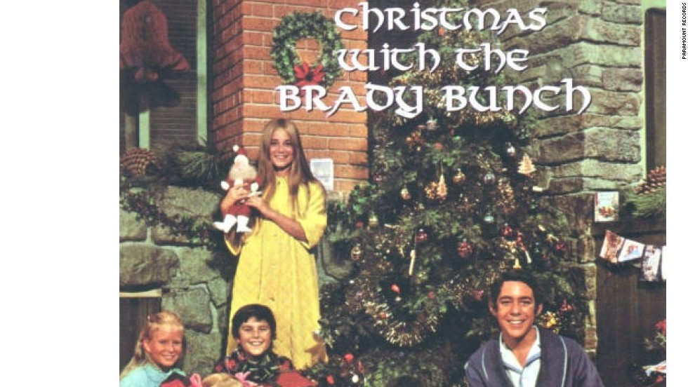 "'Christmas with the Brady Bunch': Lanzado en 1970. Los Brady no eran conocidos por cantar, pero incluso lanzaron otro álbum: ""It's a Sunshine Day: The Best of The Brady Bunch""."