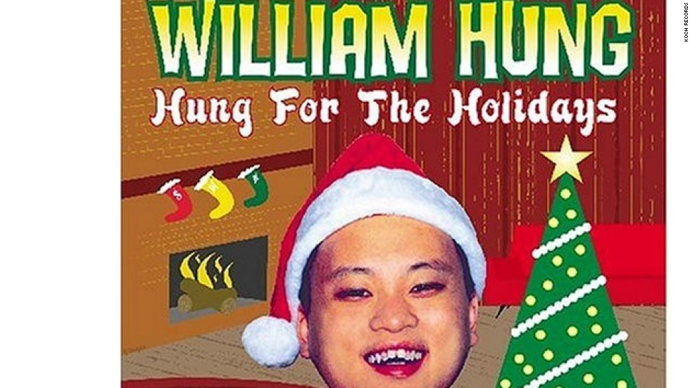 "William Hung, 'Hung For The Holidays': Lanzado en 2004, este álbum de la ""estrella"" de ""American Idol"" es un favorito de las malas fiestas navideñas."