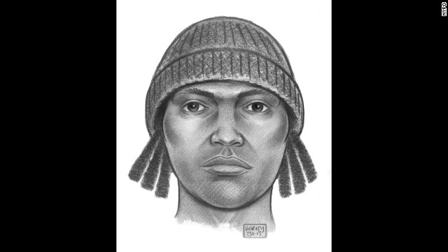 Police released this sketch of the man they were looking for in December.