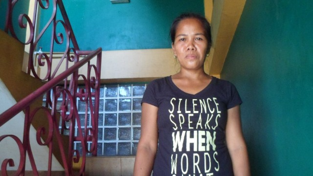 Jovanna Pardilla lost her fish selling business in Typhoon Haiyan.  But thanks to new loans, she is starting to make money again.