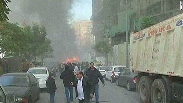 Lebanese official killed in bomb blast