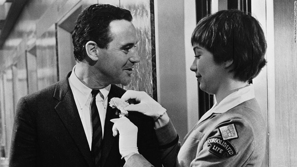 "<strong>""The Apartment""</strong> -- Shirley MacLaine's ""shut up and deal"" is a little less clear than ""I hate you, Harry."" When her character Fran Kubelik goes to the apartment of C.C. Baxter (Jack Lemmon) after ditching her married boyfriend/his boss, and the two drink champagne and play gin rummy, he tells her he loves her. But does she still see Baxter as just a friend? Is she giving him a cute response to deflect her lack of reciprocation? Or does she love him, too?"