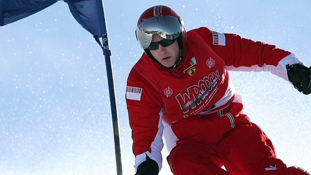 Schumacher in 'critical' condition