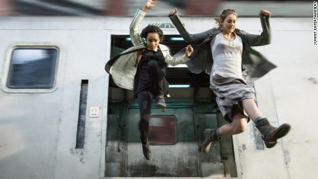 "A scene from the highly anticipated film ""Divergent"" which has already found a director for its sequel."