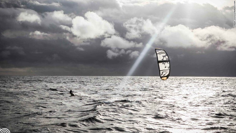Just what does it take to kiteboard across the Atlantic Ocean?