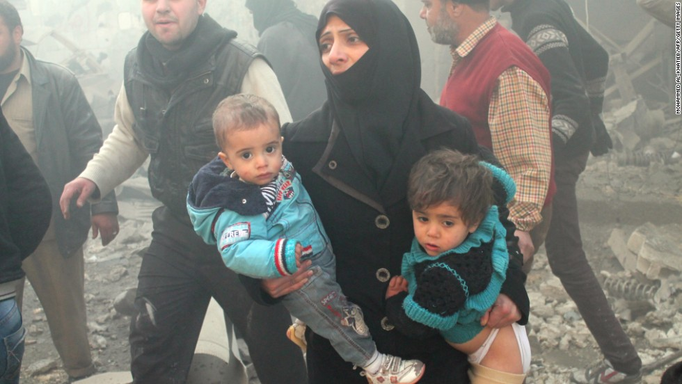 Syria's children suffer, and the world just shrugs