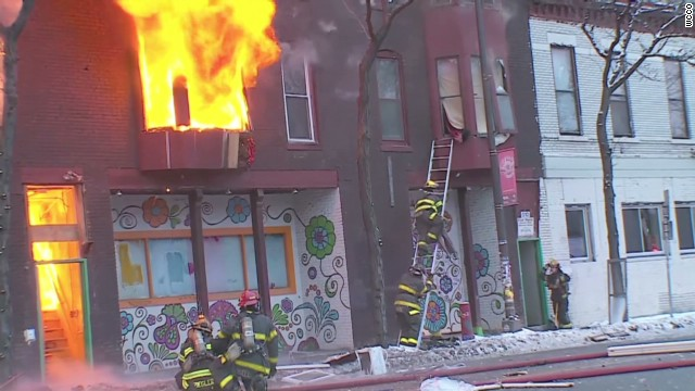 Over a dozen injured in apartment blast