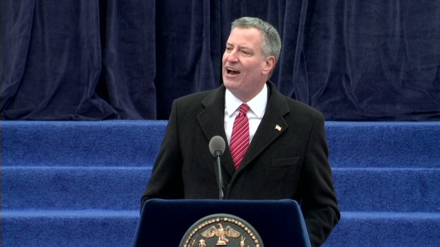 New York mayor firm about taxing wealthy