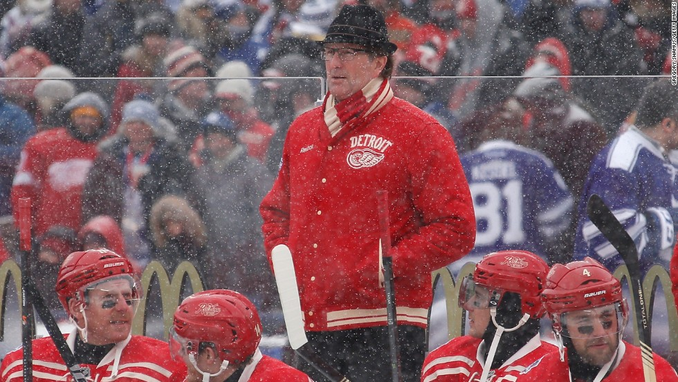 "Detroit Red Wings coach Mike Babcock was equally charmed by the experience, despite his side being defeated. ""It was a home run for hockey,"" he told the NHL website."