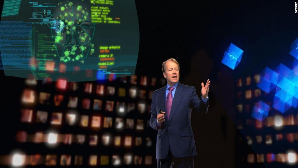 Outside the world of music, Musion has provided live holograms for wedding ceremonies, political broadcasts, sportswear manufacturers and fashion brands. Here John Chambers, CEO of communications giant <strong>Cisco,</strong> puts Musion technology to good use.