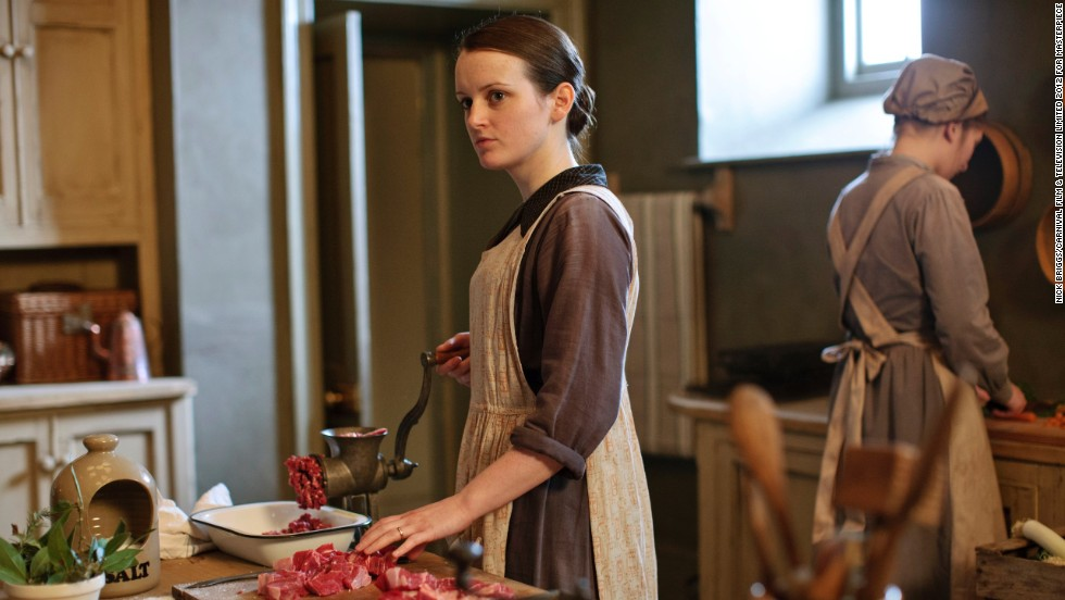 Daisy (Sophie McShera) is gaining more responsibility in the kitchen while furthering her education and dreaming of bigger things.