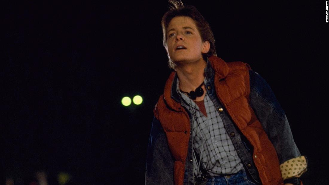 "<strong>""Back to the Future"" </strong> Michael J. Fox stars as a teenager who accidentally travels back to the time his parents met. <strong>(HBO Now)  </strong>"