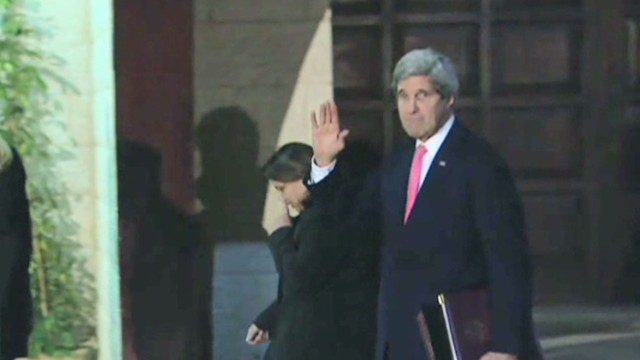 John Kerry's push for Mideast peace