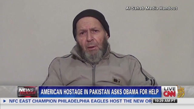 U.S. hostage's family hopes for his release
