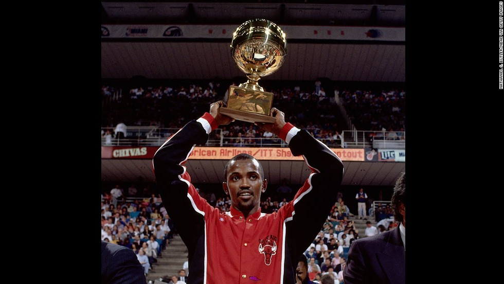 Craig Hodges played in the NBA for 10 seasons and is most known for winning the league's Three-Point Shootout competition in 1990, 1991 and 1992.