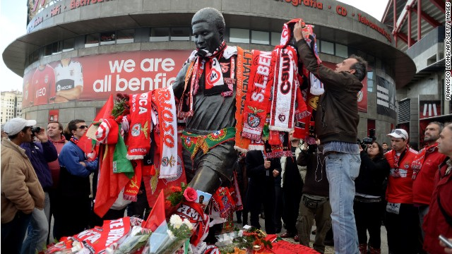Portugal remembers football legend Eusebio