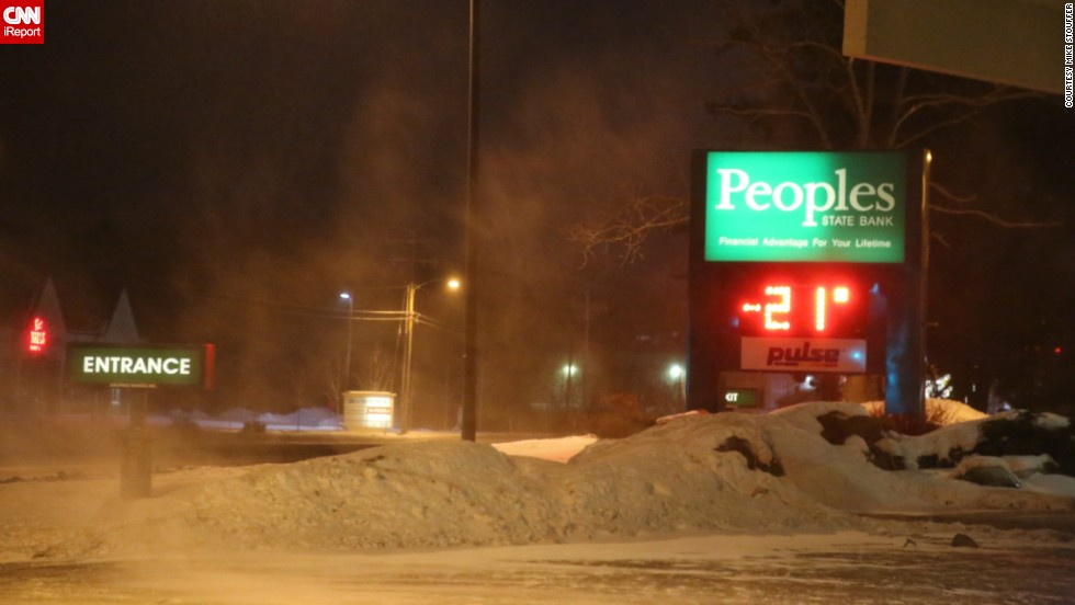 In Wisconsin on January 6, temperatures fell to minus 21 degrees, with wind chills below 40.