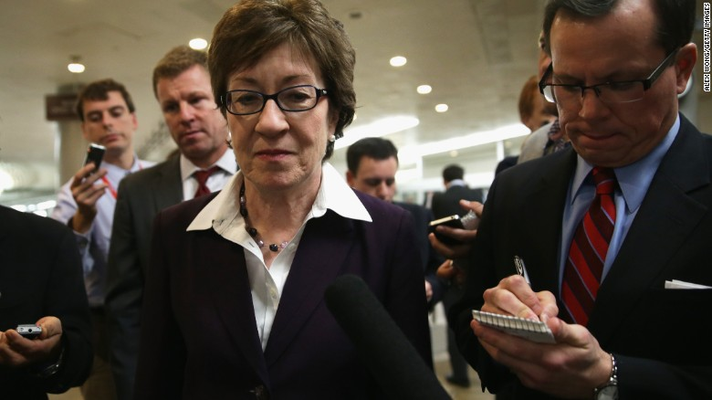 Collins takes issue with Pence on Medicaid