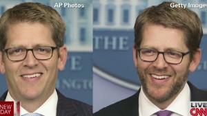 You prefer press secretary with beard!