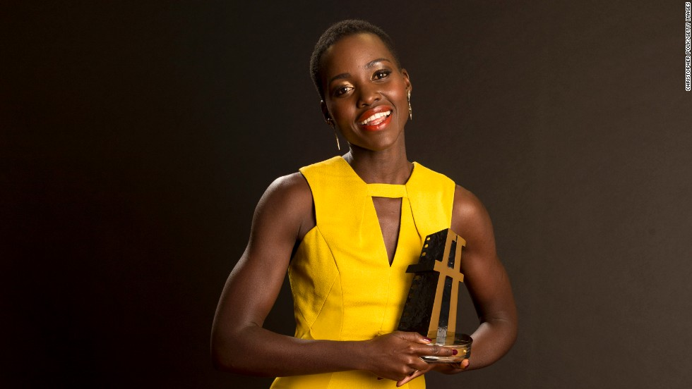And Nyong'o won the New Hollywood Award during the Hollywood Film Awards, on October 21, 2013.