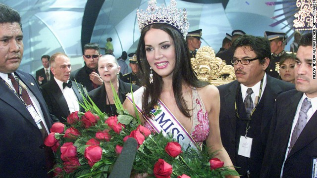 Venezuelan beauty queen Monica Spear was elected Miss Venezuela in 2004.