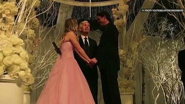 Kaley Cuoco's magical wedding