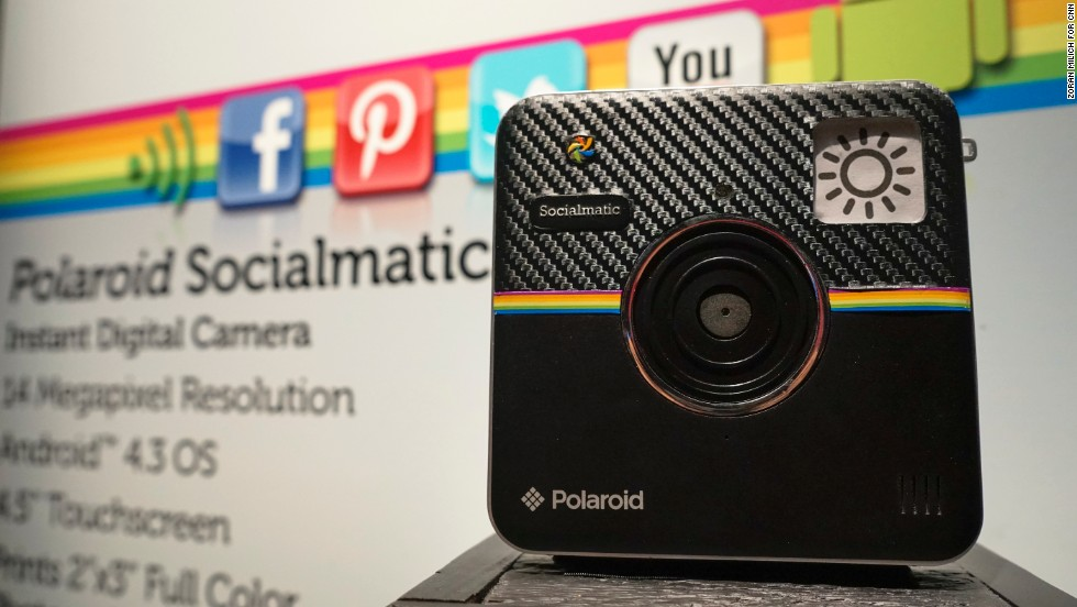 Using an Android operating system, the Polaroid Socialmatic instant digital camera is both retro and modern, letting you send images to social media or make 2- by 3-inch color prints. It's expected to go on sale in fall 2014.